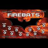 Firebats Vinyl Soccer Banner - Live Designer
