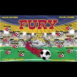 Fury Vinyl Soccer Banner - Live Designer