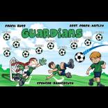 Guardians Vinyl Soccer Banner - Live Designer
