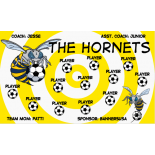 Hornets Vinyl Soccer Banner - Live Designer