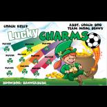 Lucky Charms Vinyl Soccer Banner - Live Designer
