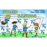 Rascals Soccer Vinyl Soccer Banner - Live Designer