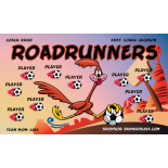 Roadrunners Vinyl Soccer Banner - Live Designer