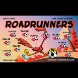 Roadrunners Fabric Soccer Banner - Live Designer