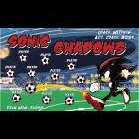 Sonic Shadows Vinyl Soccer Banner - Live Designer