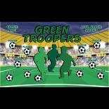 Troopers Green Vinyl Soccer Banner Live Designer