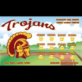 USC Trojans Vinyl College Team Banner - E-Z Order