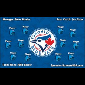 Blue Jays Vinyl Major League Banner - E-Z Order