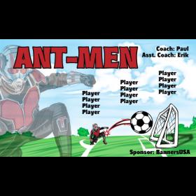 Ant-Men Fabric Soccer Banner Live Designer
