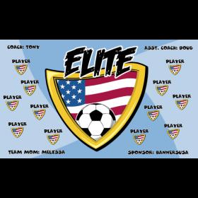Elite Vinyl Soccer Banner Live Designer