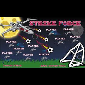 Strike Force Vinyl Soccer Banner E-Z Order