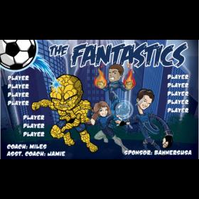 Fantastics Vinyl Soccer Banner Live Designer