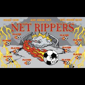 Net Rippers Vinyl Soccer Banner - Live Designer