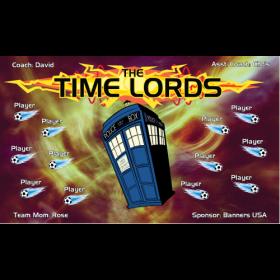 Time Lords Vinyl Soccer Banner - Live Designer