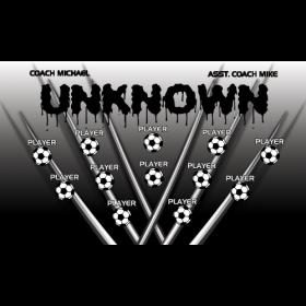 Unknown Vinyl Soccer Banner - Live Designer