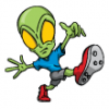 Aliens  - Soccer Art  ®