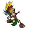 Aztecs  - Soccer Art  ®