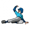 Sliders  - Baseball Art  ®