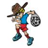 Boys in Costume  - Soccer Art  ®