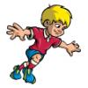 Boys  - Soccer Art  ®