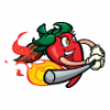 Chili Peppers  - Softball Art  ®