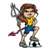 Devils  - Soccer Art  ®