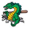 Dragons & Lizards  - Softball Art  ®