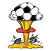 Explosions  - Soccer Art  ®