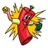 Firecrackers  - Softball Art  ®