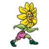 Flowers  - Soccer Art  ®