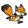 Foxes  - Soccer Art  ®