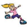 Girls  - Soccer Art  ®