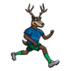 Deer Family  - Soccer Art  ®