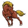 Horses  - Soccer Art  ®