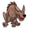 Hyena Family  - Soccer Art  ®