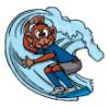 Surf Animals  - Soccer Art  ®