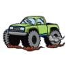 Trucks  - Soccer Art  ®