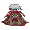 Volcanoes  - Baseball Art  ®