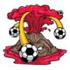 Volcanoes  - Soccer Art  ®