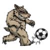 Weasel Family  - Soccer Art  ®
